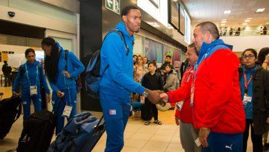 Arriba a Lima nuevo grupo de atletas cubanos