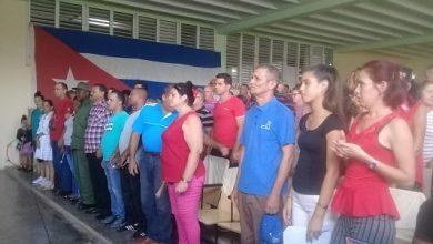 Acto de fin de curso escolar 2018-2019 en Sandino
