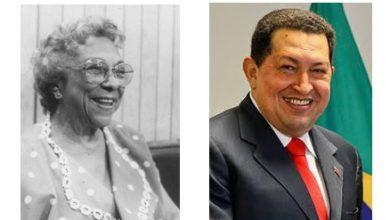 Melba Hernández y Hugo Chavez coincidencias históricas