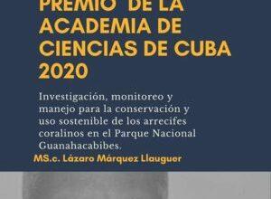 Premios de la Academia de Ciencias de Cuba en Sandino