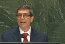 Bruno Rodríguez en la ONU: El reclamo de Cuba es que nos dejen en paz, es vivir sin bloqueo