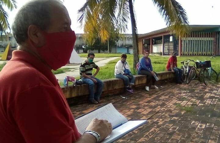 Creación de los Comités Covid en Sandino