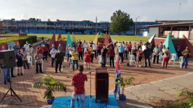 Celebran en Sandino acto municipal por el aniversario 57 de la ciudad