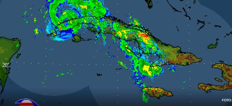 El huracán Ida sale al mar por la costa norte de Pinar del Río