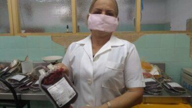 Marilyn Lezcano Ramos, estadística del Banco Municipal de Sangre