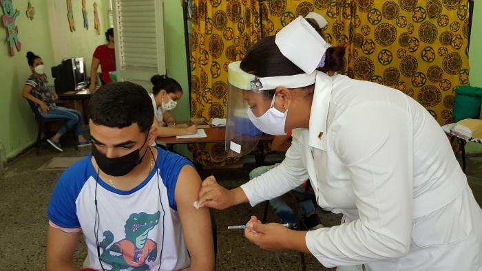 vacunación inmunización edades pediátricas sandino