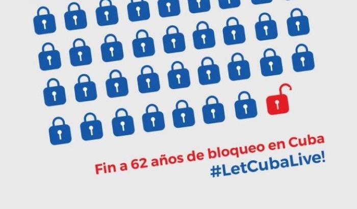 bloqueo let cuba live