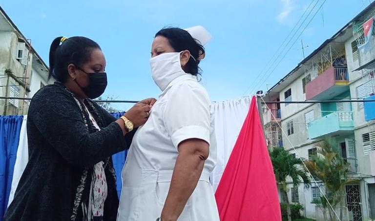 Elba Morejón, enfermera de vocación y corazón